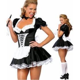 メイド服コスプレ ハロウィンコスチューム 不思議の国のアリスコスプレドレス プリンセスコスチューム