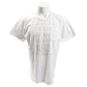 エルケクス(ELKEX) 21スラブ ポケット 半袖Tシャツ 863EK8CD5800WHT (Men's)
