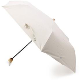 グローブ サマーモチーフ折り畳み傘(晴雨兼用) レディース ベージュ(052) 00 【grove】
