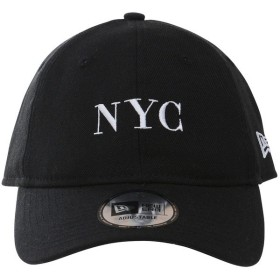スポーツアクセサリー 帽子 930 BASIC FABRICS NYC BLK SWHI 11557455 OSFA ブラック