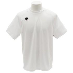 デサント(DESCENTE) 【ゼビオグループ限定】 クルーネック 半袖Tシャツ DOR-B7540 WHT (Men's)