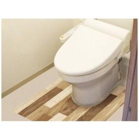 明和グラビア 4977932213067 防水保護シート トイレ床用 BKTY-9080 LBR(90cm×80cm)