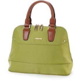 ラナサックス Rana Sacs きれい色のブガッティ型2WAYバッグ (グリーン)