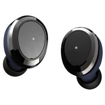 フルワイヤレスイヤホン OVAL ネイビー OVAL-NAVY [マイク対応 /ワイヤレス(左右分離) /Bluetooth]