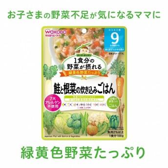 1食分の野菜が摂れるグーグーキッチン 鮭と根菜の炊き込みごはん 9ヶ月