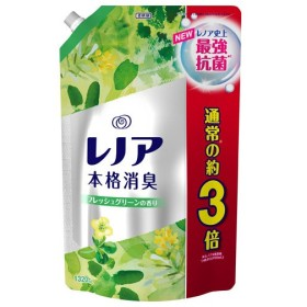 P&G レノア本格消臭 フレッシュグリーンの香り 1320ml 詰替 超特大 『7月29日15時まで期間限定価格』