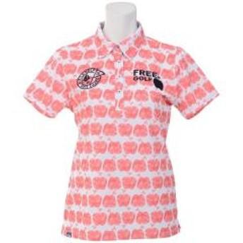 FILA(フィラ) ゴルフ レディース半袖ポロ 半袖ハイネック 半袖シャツ 757612 レディース OG