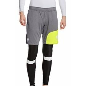 (サッカージャンキー)soccer junky サッカー用 インナー付き 練習 パンツ 安心してくださいセットですよ +2 SJ16511 133 ヘザーグレー L
