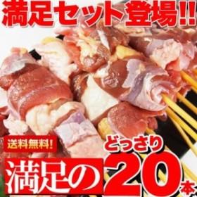 焼き鳥 国産 地鶏 純鶏串 20本 福井県産
