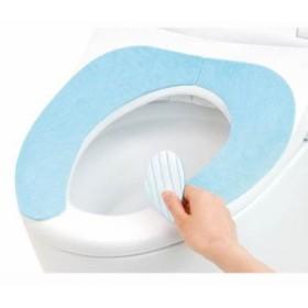 吸着便座シート 貼る 便座カバー 抗菌 防臭 洗える 2枚組 ブルー
