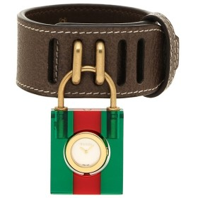 グッチ 腕時計 レディース GUCCI YA150505 496532 JA7B0 8460 ブラウン グリーン レッド