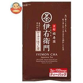 【送料無料】 宇治の露製茶  伊右衛門  炒り米入りほうじ茶 ティーバッグ  2g×120P×1袋入