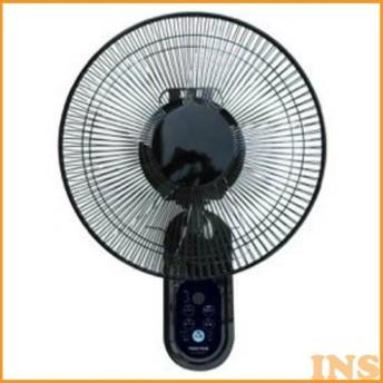 扇風機 壁掛け テクノス 壁掛け扇 おしゃれ 6枚羽根 30cm フルリモコン リズム風 おやすみ風 タイマー KI-W302RK TEKNOS (D)(B)