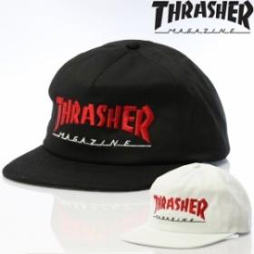 THRASHER スラッシャー ビーニー バケット ニット帽 キャップ ハット 帽子 MAGAZINE LOGO TWO-TONE HAT