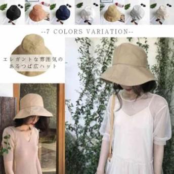 サファリハット UVカット ハット つば広 折りたたみ ハット UVカット帽子 帽子 レディース つば広ハット 紫外線 日よけ帽