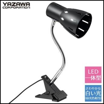 YAZAWA(ヤザワコーポレーション) 6Wフレキシブルクリップライト ブラック CFLE06N07BK