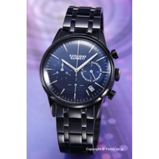 448687bf8c キャサリンハムネット 時計 メンズ KATHARINE HAMNETT 腕時計 KH23C4-B64 クロノグラフ6 ブルーメタリック