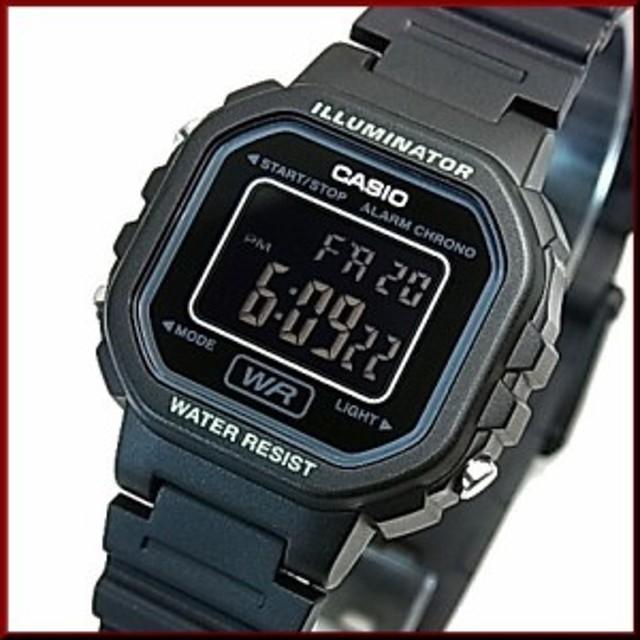cb4a1a8795 CASIO【カシオ/スタンダード】アラームクロノグラフ レディース腕時計 デジタルモデル ラバーベルト【