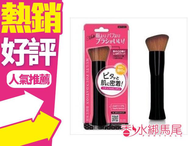 ◐香水綁馬尾◐日本 Lucky MFB-980 服貼R型 輕薄粉餅刷 1入 粉底刷 粉條刷