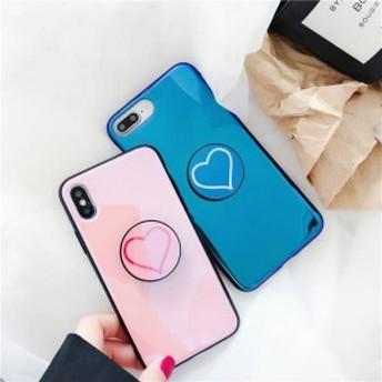 2018新作 iPhoneX iPhone8 iPhone7Plus iPhone6ケース 全機種対応スマホケース可愛いハード柄リング付iPhoneケースMO169