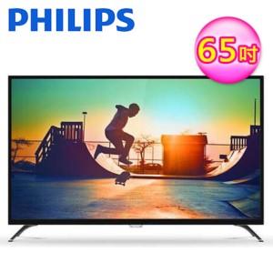 PHILIPS飛利浦 65吋 4K超纖薄智慧型LED顯示器 65PUH6082