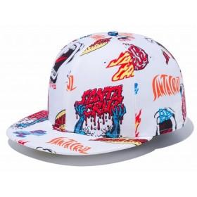 ニューエラ NEW ERA 59FIFTY サンタクルーズ マルチロゴ カジュアル 帽子 キャップ Santa Cruz