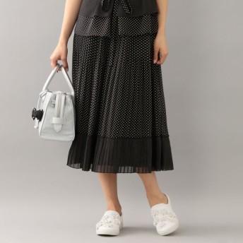 SALE【トゥー ビー シック(TO BE CHIC)】 【WEB限定】【Tricolore】ボンボンメランジェスカート ブラック