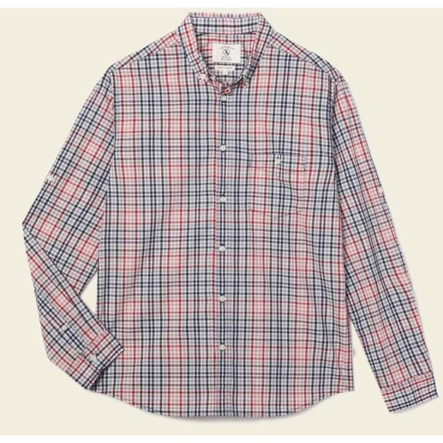 AIGLE メンズ メンズ アニーBダウンシャツ ZCHH433 KLEIN CH (005) シャツ・ポロシャツ