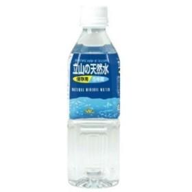 立山の天然水 5年保存水 500ml×48本(2ケース)【防災・常備用・保存用・備蓄】