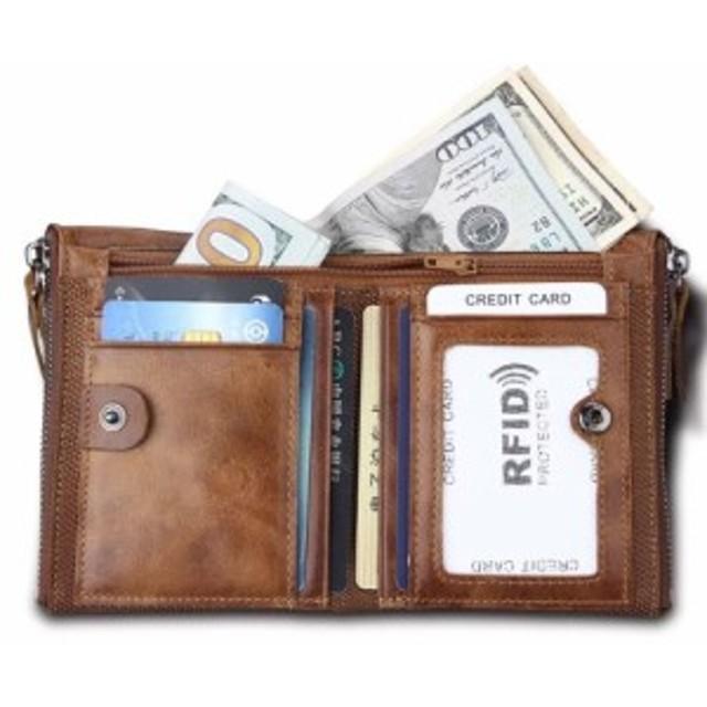 d43079ef42a3 新商品 本革財布 2つ折り財布 お父さん 折り財布 小銭入れ カード収納 レザー