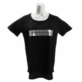 ザ・ワープ・バイ・エネーレ(The Warp By Ennerre) 半袖Tシャツ Square WB37JA48 BLK (Lady's)