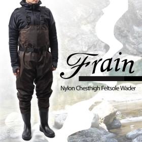 フレイン(Frain) ナイロンチェストハイフェルトウェダー M ディープブラウン ONT02FM