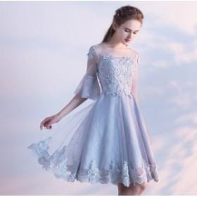 刺繍ワンピースドレス レディース