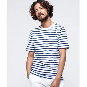 【70%OFF】 ナノ・ユニバース ショートリングパイルTシャツ SS メンズ パターン3 S 【nano・universe】 【セール開催中】