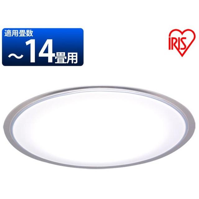 シーリングライト おしゃれ LED 14畳 クリアフレーム リモコン付 調光 調色 CL14DLEDE4 照明器具 天井照明 電気 アイリスオーヤマ (アウトレット)