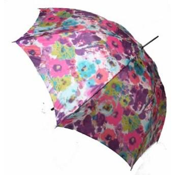 母の日 傘レディースおしゃれ 日本製 超軽量、超大判 傘 花