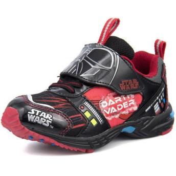 STAR WARS(スター・ウォーズ) キッズ スニーカー 1005-01 ブラック 運動靴 ボーイズ