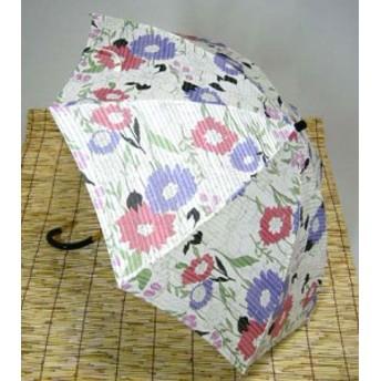 日母の日 傘レディースおしゃれ 晴雨兼用 日本製 花霞