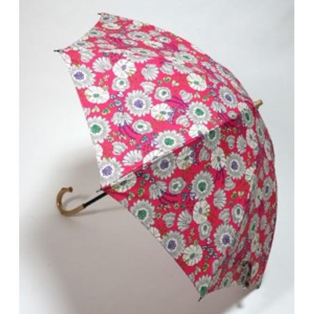 傘レディースおしゃれ 晴雨兼用  日本製 UVcare 花園
