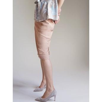 [LAGUNAMOON]トライアングルステッチギャザータイトスカート