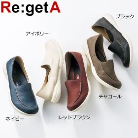 Re:getA レディース ローファー ドライビングシューズ R-078