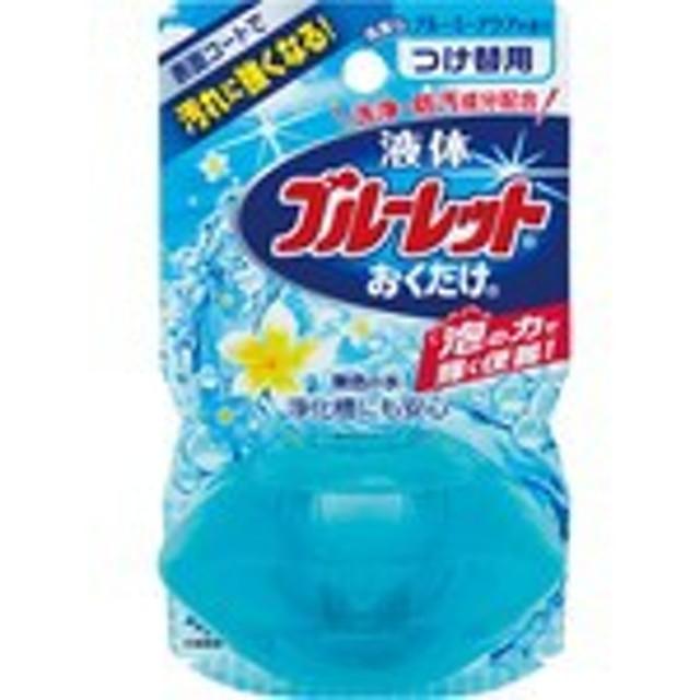 【液体ブルーレットおくだけ 清潔なブルーミーアクアの香り 無色の水 つけ替用】※受け取り日指定不可