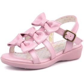 SALE!Sweet Jelly(スイートジェリー) キッズ トリプルリボンサンダル 180004 ピンク【ネット通販特別価格】 ガールズ