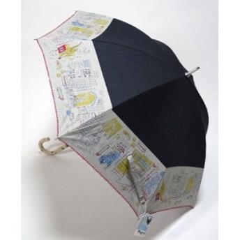 日母の日 傘レディース マンハッタナーズ おしゃれ 晴雨兼用 「ウォール ストリート」