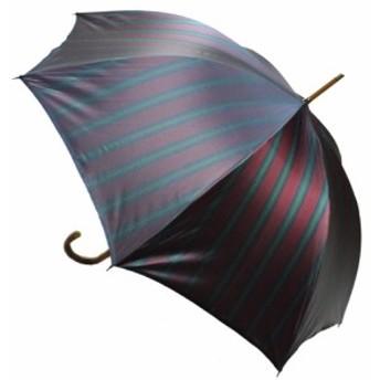 日本製 マルチストライプB 父の日 傘メンズ おしゃれ 紳士用 雨傘男性用 かさ カサ