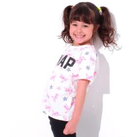 Tシャツ - ANAP KIDS ネオン総柄Tシャツ