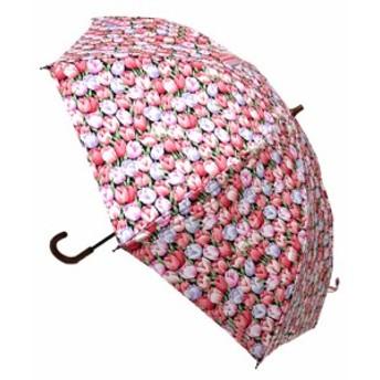 日母の日 傘レディースおしゃれ 晴雨兼用 日本製 UVcare チューリップ
