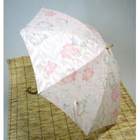 日母の日 傘レディースおしゃれ 晴雨兼用 日本製  友禅風