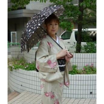 傘レディースおしゃれ 日本製 UV care「ねこ」の雨晴兼用日傘