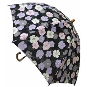 日母の日 傘レディースおしゃれ 晴雨兼用 日本製 UV care 草花